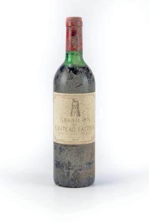 1 B GRAND VIN DE CHATEAU LATOUR (H.E. ; e.l.s.) 1er GCC Pauillac 1978