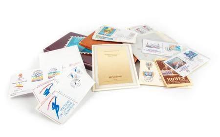 Collection de timbres neufs et divers, années 1990