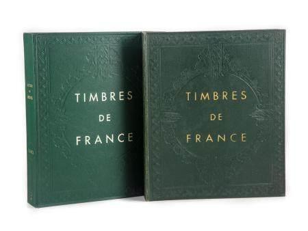 Yvert & TellierCollection de France en 2 albums, de 1870 à 1993, partiellement complet