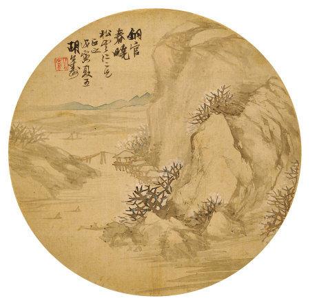 胡公壽(1823~1886)銅官春曉