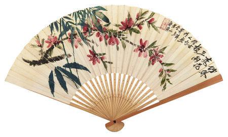 齊白石(1863~1957)竹外桃花三兩枝