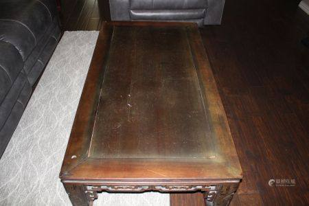 A Rosewood Low Table, Qing Dynasty