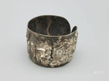 A Silver Bracelet, Qing Style