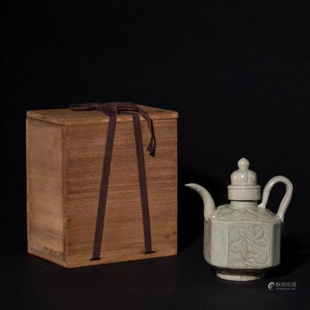 宋越窑酒壶