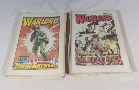 35 vintage Warlord comics 1985 5th Jan - 7th Sept