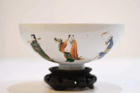 Famille Verte Porcelain Bowl