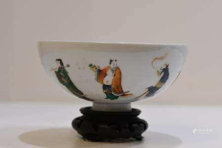 Famille Rose Porcelain Bowl