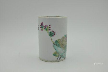 Pen holder of Qing Dynasty