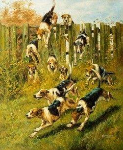 Oil Painting - Dogs - Toronto Artist