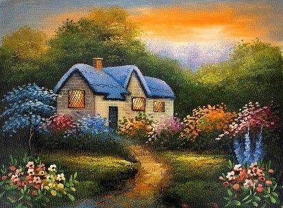 Oil Painting - Landscape  - Quebec Artist