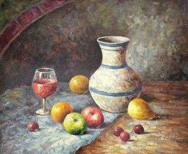 Oil Painting - Fruits  - Sharon Artist