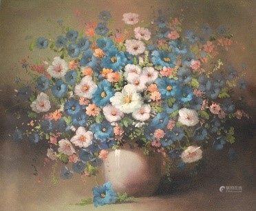 Oil Painting - Flower - Local Artist