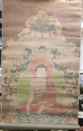 A Chinese buddhist painting