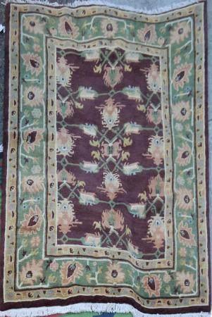 A Nepalese carpet
