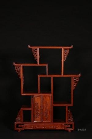 紅木多寶閣