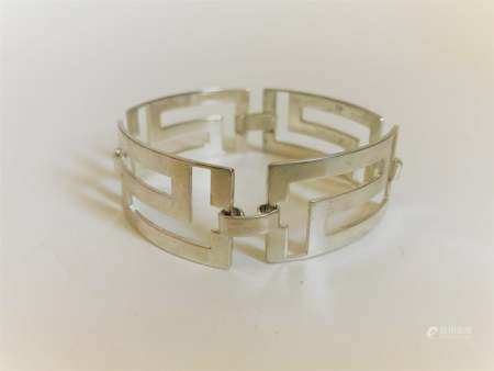 vintage sterling silver bracelet bangle marked