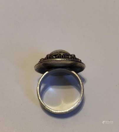 vintage hand made sterling silver ring tested