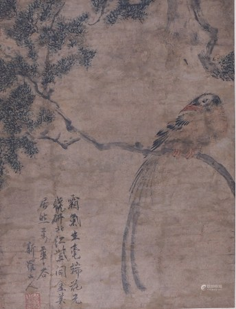 华嵒 花鸟