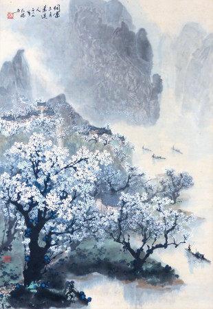 楊長槐  侗寨三月景迷人
