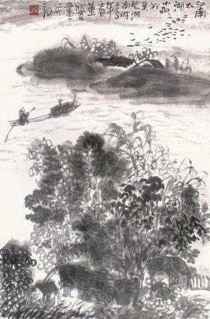 董欣賓  太湖一景