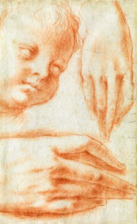 Francesco MORANDINI dit Il Poppi (Poppi, 1544 - Florence, 1597), attribué à Etude [...]
