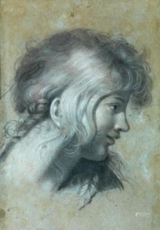 Pierre-Paul PRUD'HON (Cluny, 1758 - Paris, 1823), entourage de L'Enfance Fusain, [...]