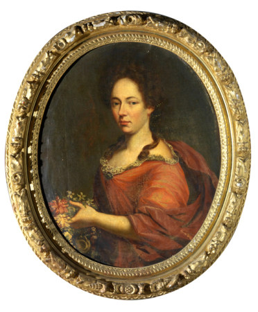 Ecole française du XVIIIe siècle, entourage de Pierre GOBERT Portrait présumé de [...]