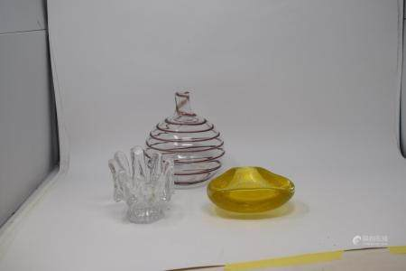 Assorted Art Glass (2 boxes)