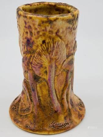 Tiffany Toadstool Pottery Ware Cabinet Vase