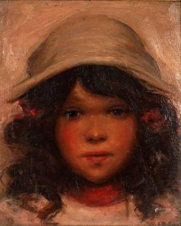 Olga Geneva Reed Daly Rookwood Artist Portrait