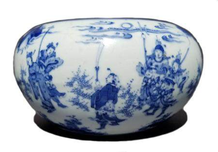 Important Chinese Blue & White Porcelain Bowl