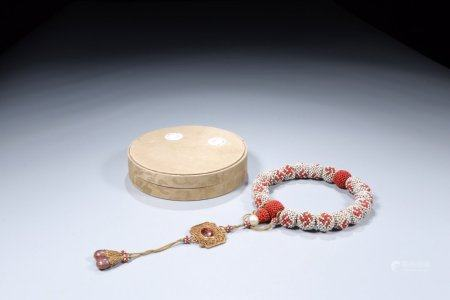 A Chinese Beads Hand String