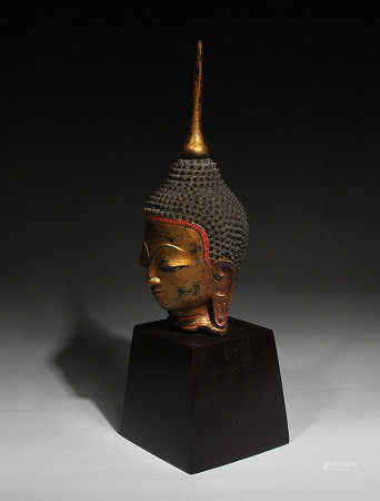 Thailand Buddha'S Head,18Th Century