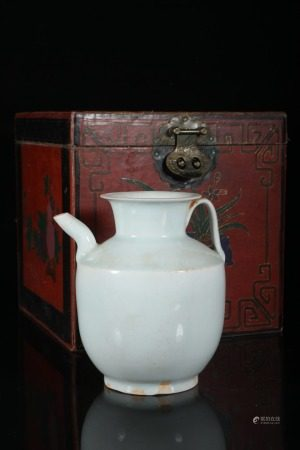 A Chinese Hutian-Yao Celadon Porcelain Pot