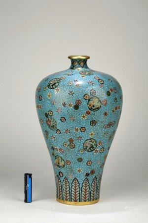 "A Chinese Enamelled ""Floral"" Meiping,Guangxu Period"