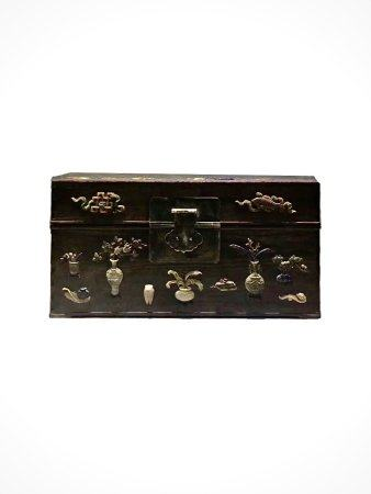 A Chinese Fine Huanghuali Long Box