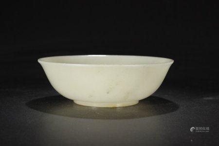A Chinese Hetian Jade Bowl