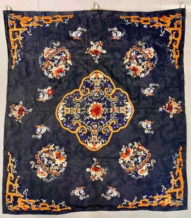 A Chinese Exquisit Embroidery,Qing Dynasty