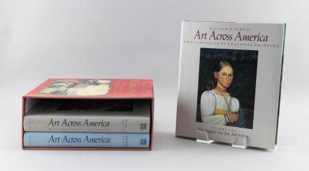 TWO ART REFERENCE SETS: ART ACROSS AMERICA AND THREE HUNDRED