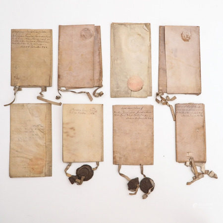 A Collection of 18th - 19th Century Paperwork