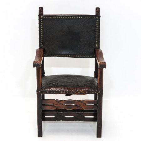 A 17th Century Oak Chair