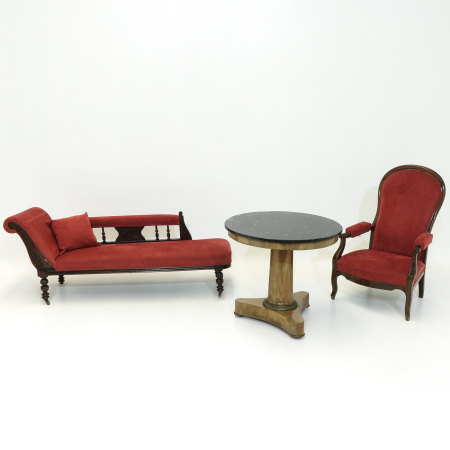 A Diverse Collection of Antique Furniture