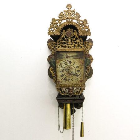 An 18th - 19th Century Friesland Clock