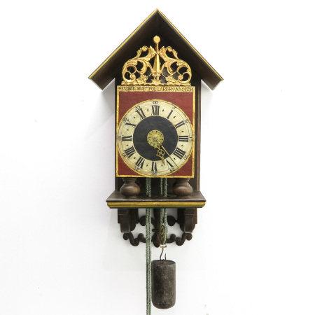 A Signed Ruempol Lauren Clock 1754