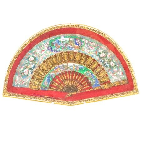 A Framed Chinese Fan