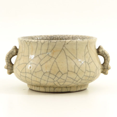 A Chinese Crackleware Censer
