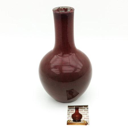 A Sang de Boeuf Vase