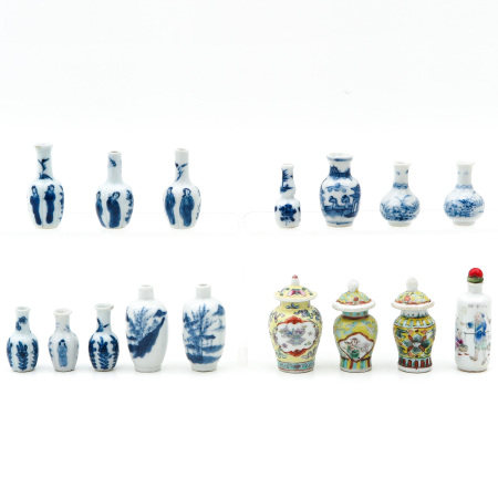 A Collection of Snuff Bottles and Miniatures