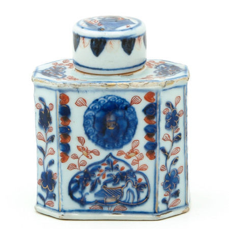 An Imari Tea Box
