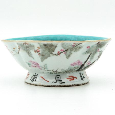 A Qianjiang Cai Altar Dish